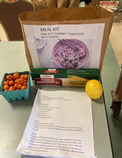 Meal Kit created by Green Bridge